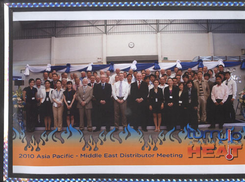 2010年贝尔佐纳亚太区域经销商大会在泰国曼谷召开!